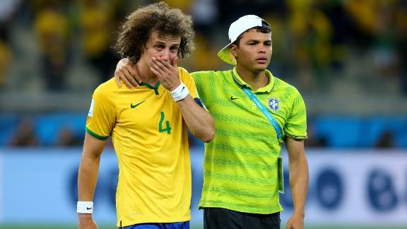 Brazil's ride comes to abrupt end