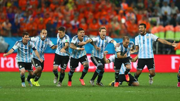 Highlights: Netherlands (2) 0-0 (4) Argentina