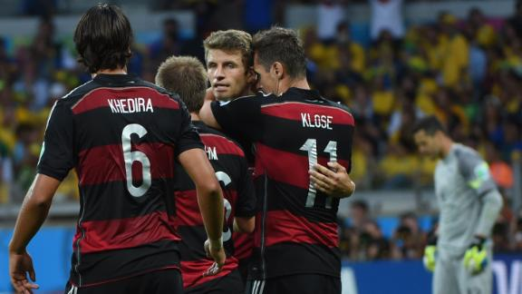 How to stop Germany in the World Cup final