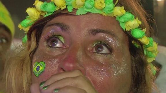 Reaction in Rio to semi-final humiliation