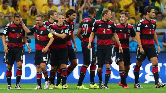 German players apologise for thrashing Brazil