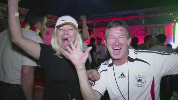 Germany fans revel in Brazil's misery