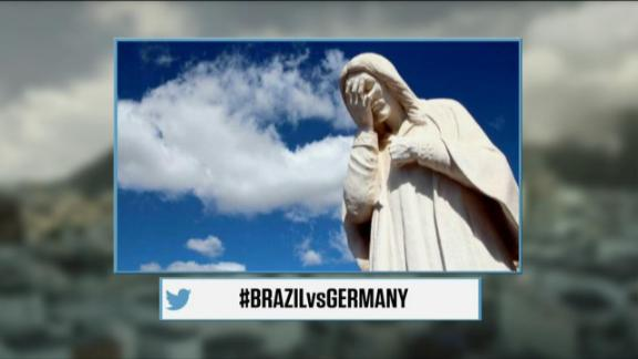 The world reacts to Germany, Brazil