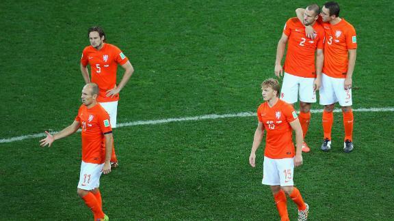 Poor individual performances for Dutch