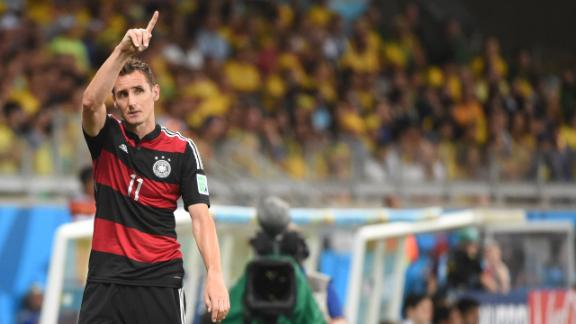 Lalas: Klose is a World Cup legend