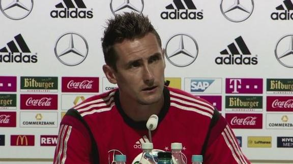 Klose 'confident' ahead of final