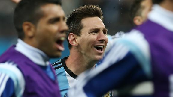 Get Messi the ball
