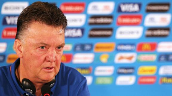 Van Gaal: Third place match