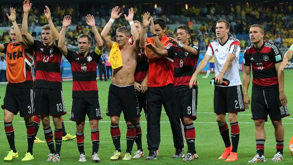 Can Germany continue their run?