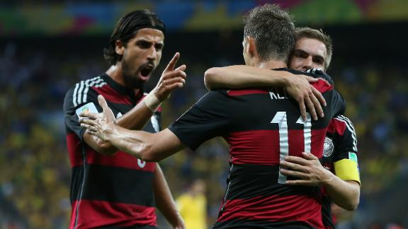 Germany's road to the final