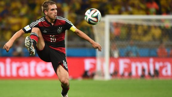 Lahm 'optimistic' ahead of final