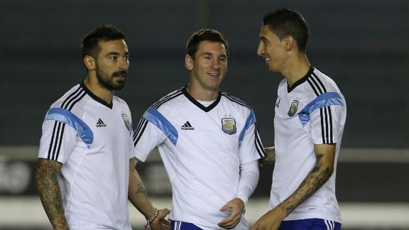 Argentina looking to peak in final