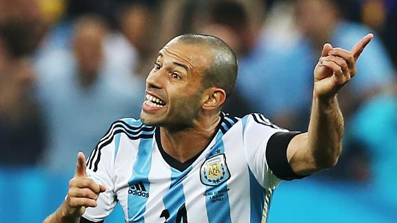 Mascherano key to Argentina success