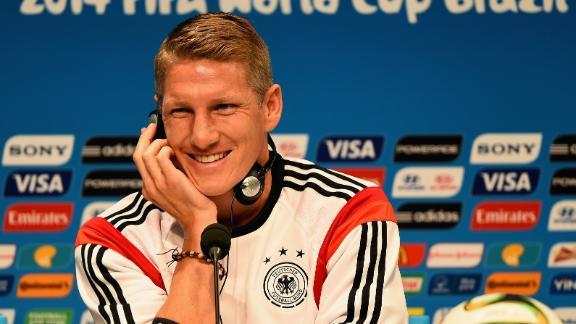 Schweinsteiger identifies Argentina's keys