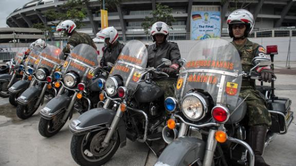 Rio de Janeiro beef up security