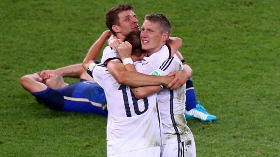 Bayern players dominate German squad