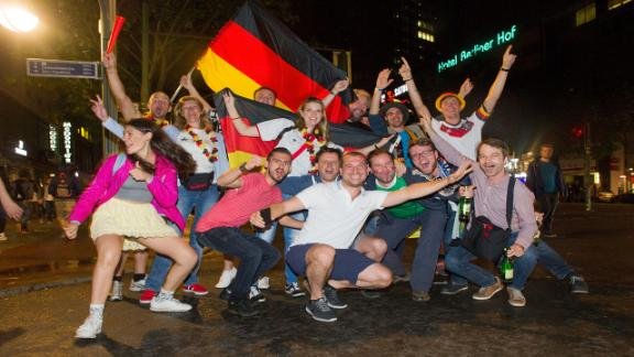 Berlin celebrates World Cup success