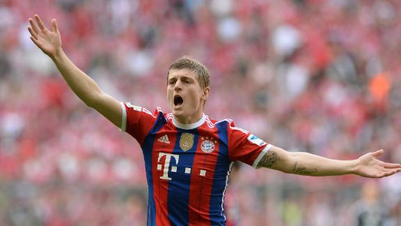 Kroos edging closer to Madrid move