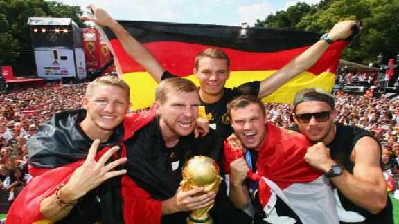 World Cup winners Germany top FIFA rankings