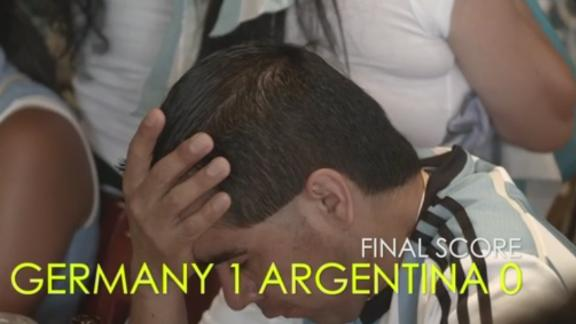 Untameable Spirit: Germany vs. Argentina