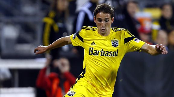 Highlights: New England 1-2 Columbus Crew