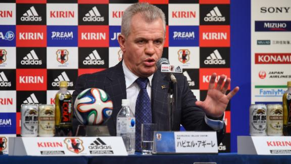Aguirre unveiled as Japan boss