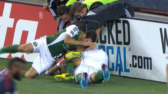 Highlights: Portland Timbers 1-1 New England