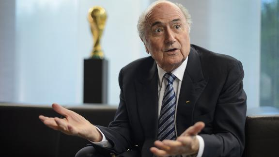 Blatter named FIFA president for 5th term