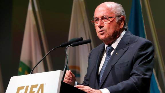 FIFA president Sepp Blatter calls for unity: 'Events unleashed a storm'