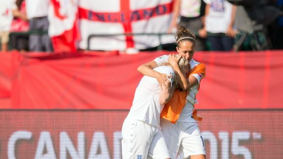 Japan beat England 2-1 after Laura Bassett's own goal in injury time