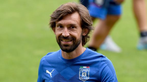Pirlo trains with NYCFC for the first time