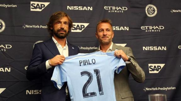 Pirlo means business in NYC