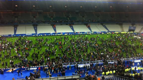Explosions heard during France, Germany match