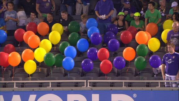 WATCH: Orlando City honours victims