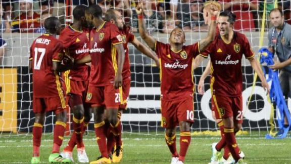 Video via MLS: Real Salt Lake 2-1 NY Red Bulls