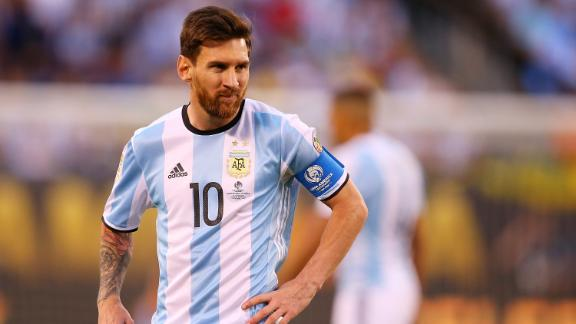 Lionel Messi flags potential Argentina retirement after penalty loss to Chile