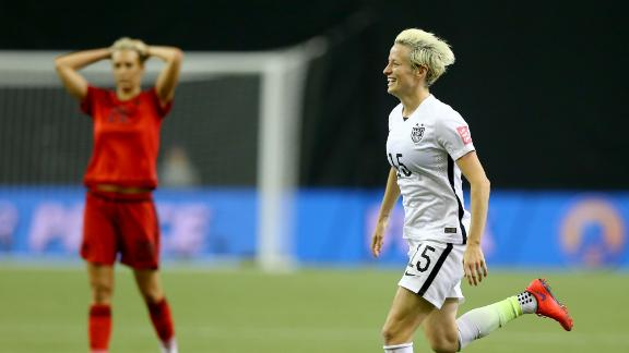 Markgraf: Rapinoe inclusion no surprise
