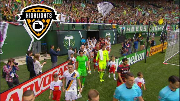 Highlights: Portland Timbers 1-2 LA Galaxy