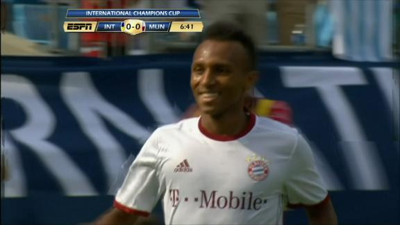 American Julian Green puts Bayern Munich ahead