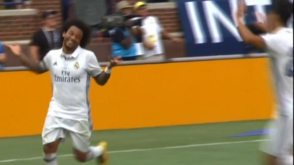 Marcelo strikes again with Real Madrid's second goal
