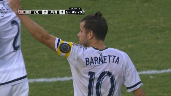 WATCH: Barnetta's brilliant free kick