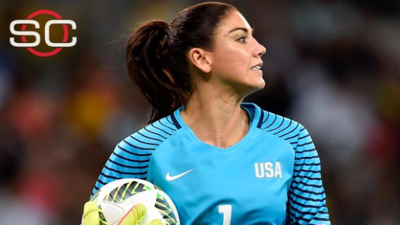 U.S. Soccer calls Hope Solo comments at Rio Games 'unacceptable'