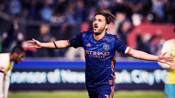WATCH: David Villa wins MLS MVP