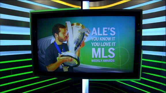 WATCH: Ale's 2016 MLS Awards