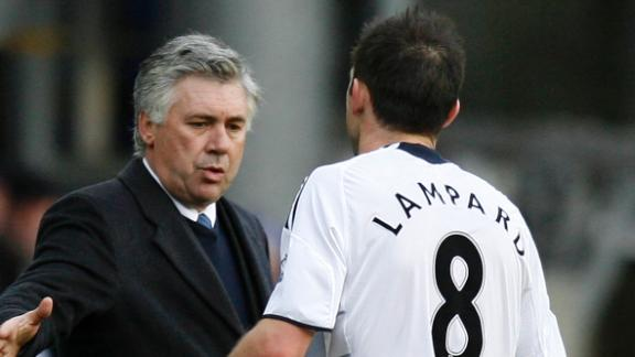 Ancelotti fond of Lampard relationship