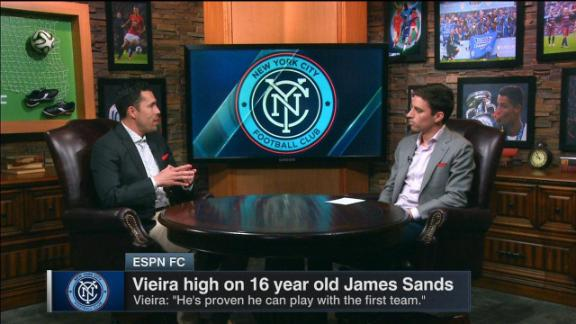 Gomez: Give NYCFC teenager Sands time
