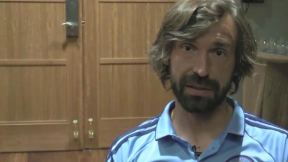 Pirlo: Conte is a genius