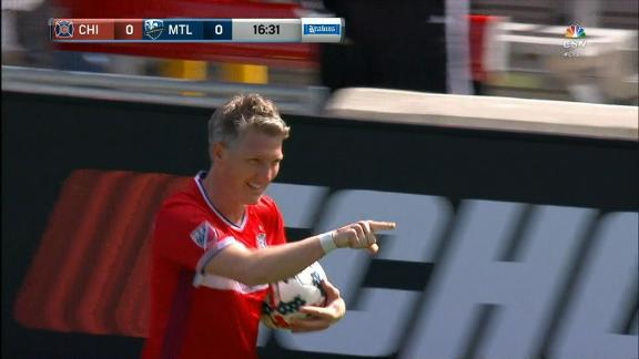 WATCH: Schweini scores in MLS debut