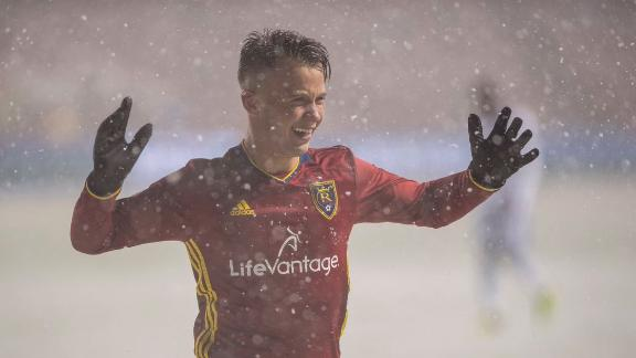 RSL 3-0 Vancouver: Snow can't stop goals