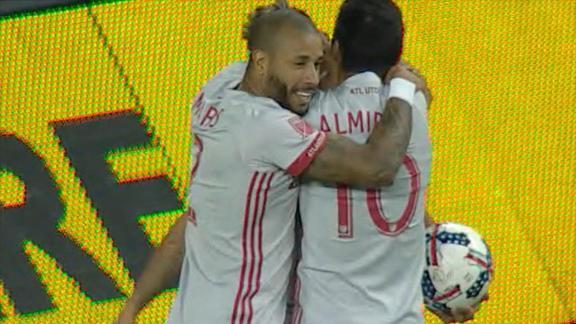 Toronto 2-2 Atlanta: Villalba brace for 10-man visitors
